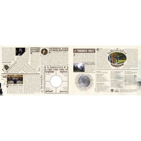 The Harry Potter Hogwarts Medal Cover - AM058