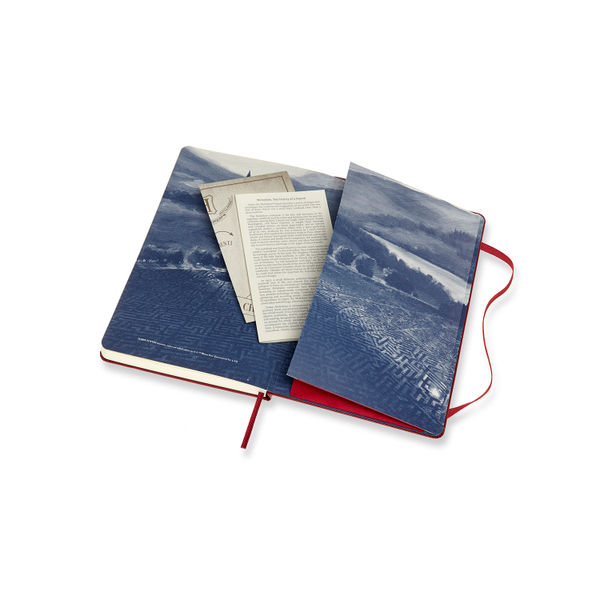 Moleskine Large Marauder's Map Harry Potter Notebook - LEHPDQP060