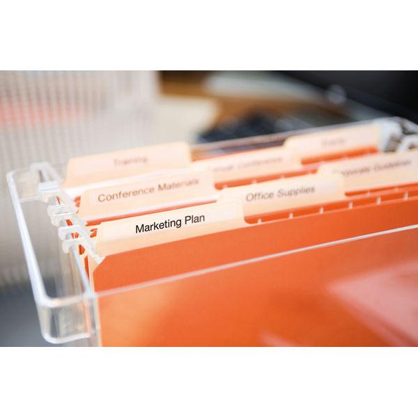 Dymo 45010 D1 LabelMaker Tape 12mm x 7m Black on Clear S0720500