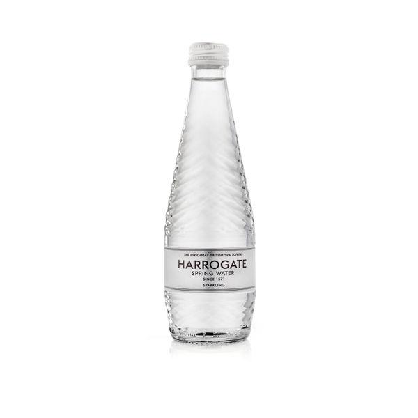 Harrogate 330ml Sparkling Water Glass Bottles, Pack of 24 - G33024 2C
