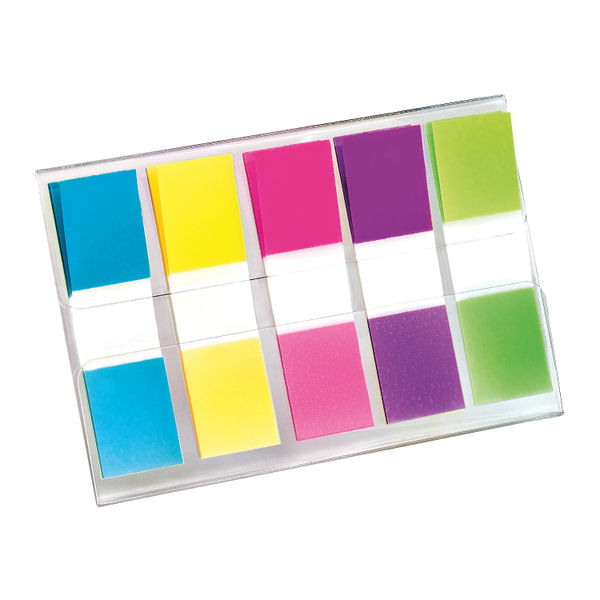 Post-it Portable Small Index Tabs, Pack of 100 - 683-5CB