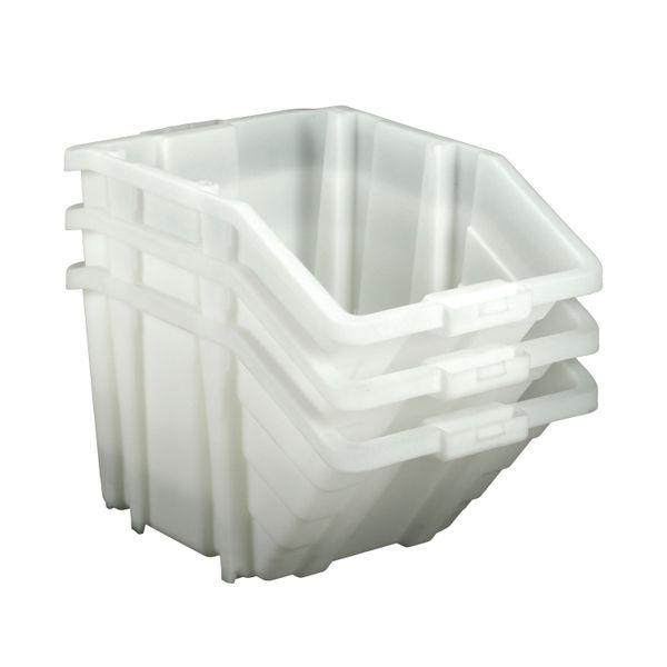 Barton Multifunctional Storage Bins Blue Lids (Pack of 4) 052101/4