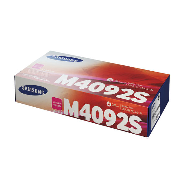 Samsung CLT-M4092S Magenta Toner Cartridge | SU272A