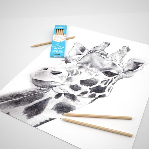 Classmaster Sketching Pencils, Pack of 6 - SKP6A