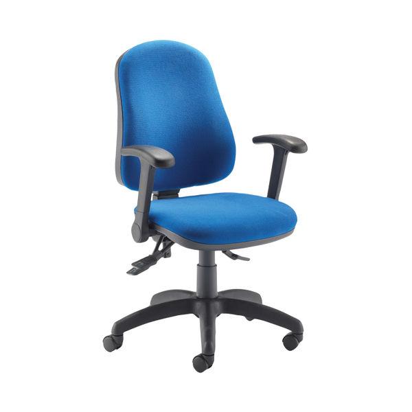 Jemini Teme Blue High Back Deluxe Operators Office Chair
