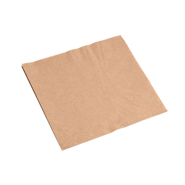 Combinations Brown 330 x 330mm Napkins (Pack of 100) - 3324RCCOM
