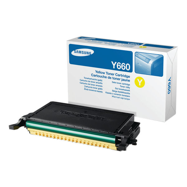 Samsung CLP-Y660B Yellow Toner Cartridge High Capacity | ST959A