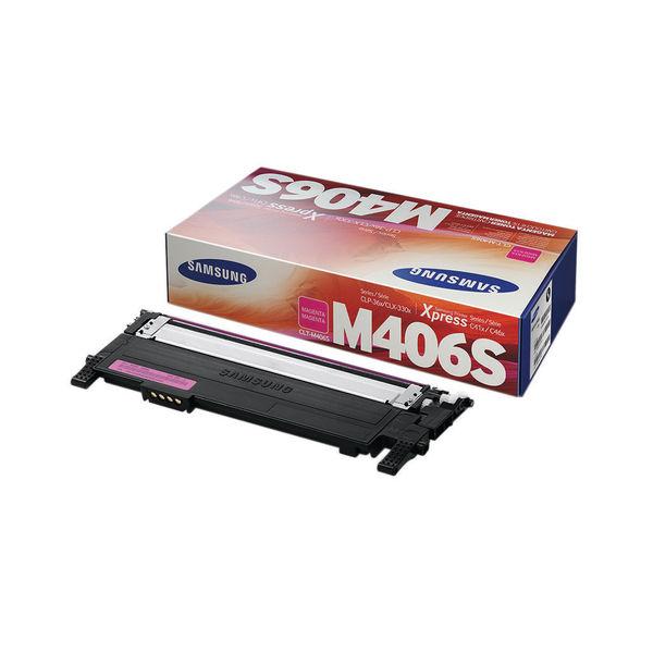 Samsung CLT-M406S Magenta Toner Cartridge | SU252A