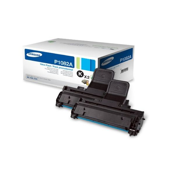 Samsung MLT-P1082A Black Toner Cartridge Dual Pack | SV118A