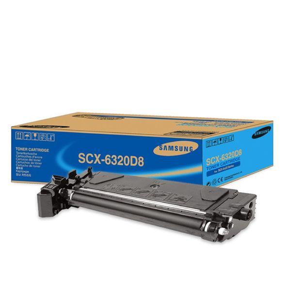 Samsung SCX-6320 Black Toner Cartridge | SCX-6320D8/SEE