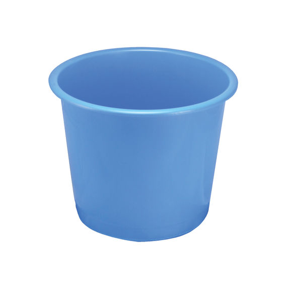 Q-Connect Waste Bin 15 Litre Blue | CP025KFBLU