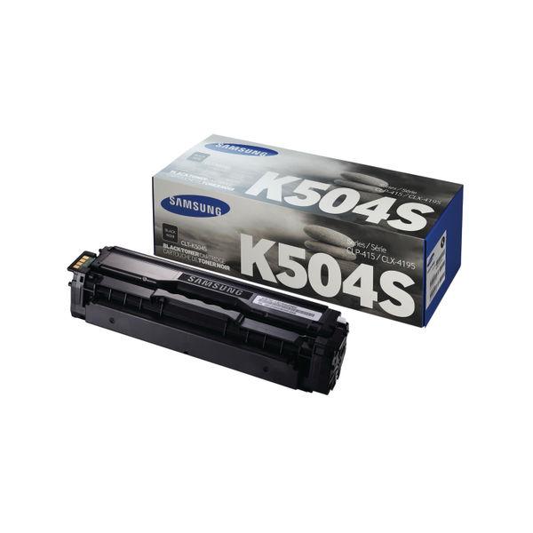 Samsung CLT-K504S Black Toner Cartridge | SU158A