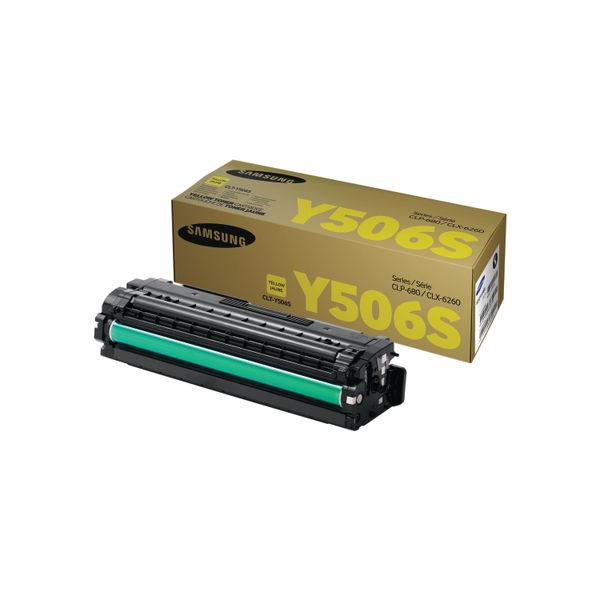 Samsung CLT-Y506S Yellow Toner Cartridge   SU524A