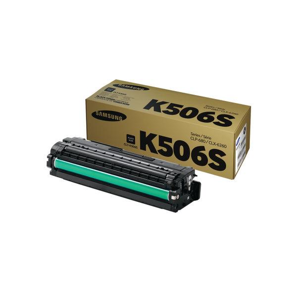 Samsung CLT-K506S Black Toner Cartridge | SU180A
