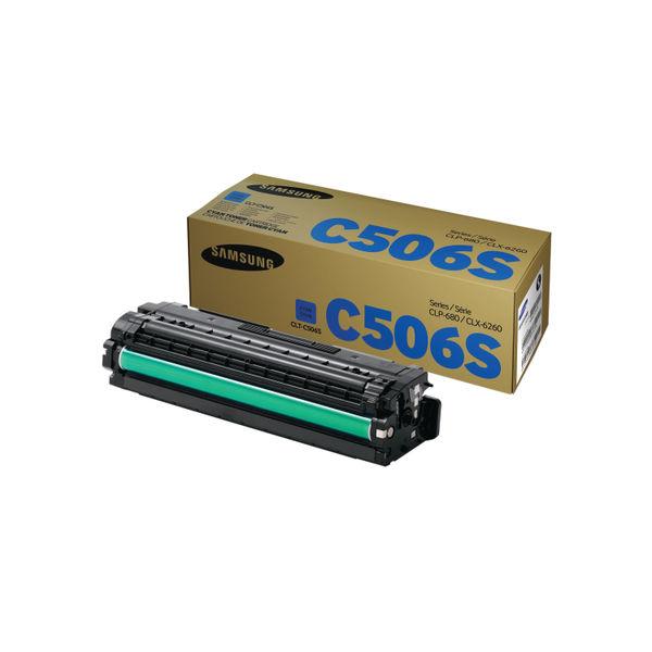 Samsung CLT-C506S Cyan Toner Cartridge   SU047A