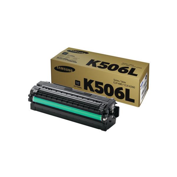 Samsung CLT-K506L Black Toner Cartridge High Capacity | SU171A