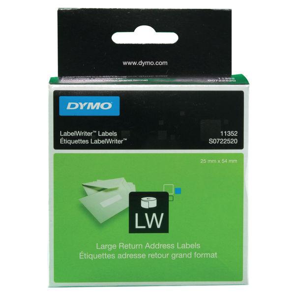 Dymo Label Writer Return Address Labels 25mm x 54mm | S0722520