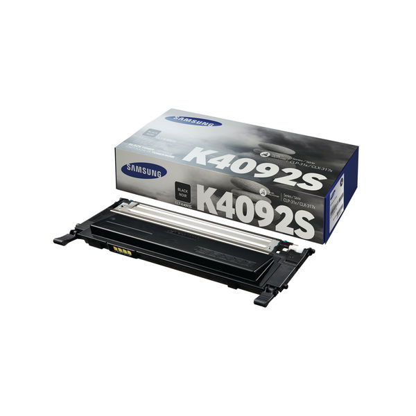 Samsung CLT-K4092S Black Toner Cartridge | SU138A