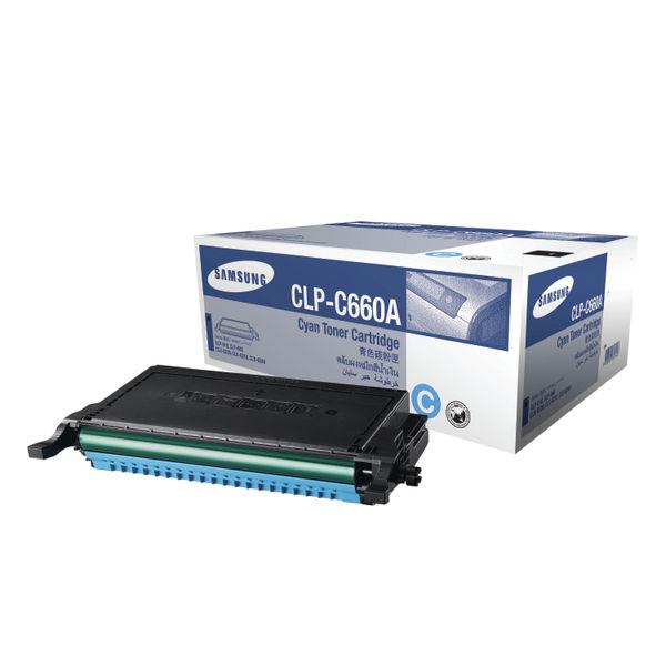 Samsung CLP-C660A Cyan Toner Cartridge | ST880A