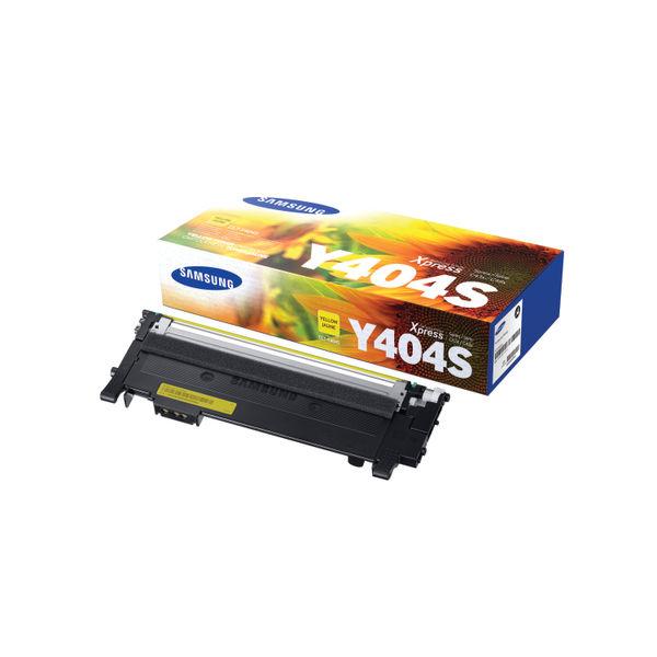 Samsung CLT-Y404S Yellow Toner Cartridge | SU444A