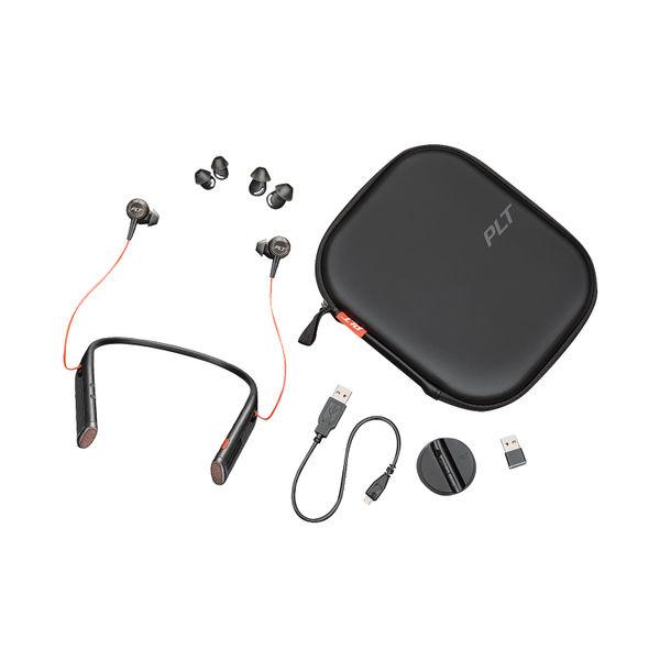 Plantronics Voyager B6200 UC Headset Neckband Black 208748-01