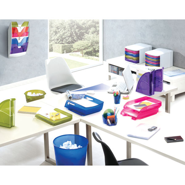 CEP Rainbow 5 Compartment Wall File - 154HM