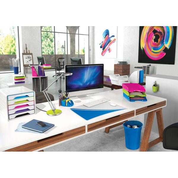 CEP White Pro Gloss Desk Tidy - 580GWHITE