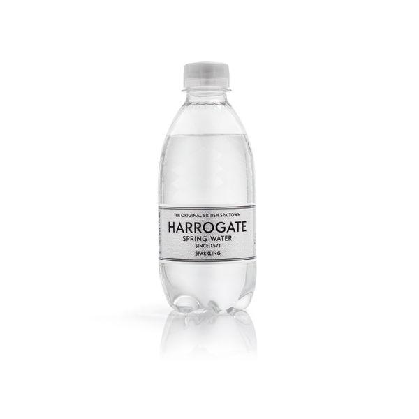 Harrogate 330ml Sparkling Spring Water Bottles, Pack of 30 | P330302C