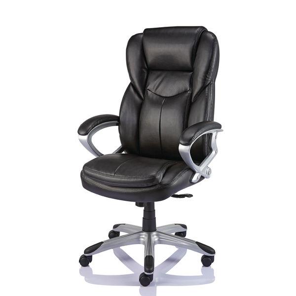 Giuseppe Black Bonded Leather Executive Office Chair - 28998