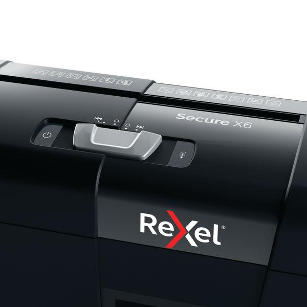 Rexel Secure X6 Cross Cut Shredder | 2020122