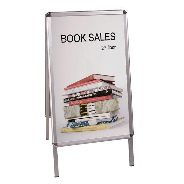 Bi-Office A-Frame A1 Information Board - BQ76032