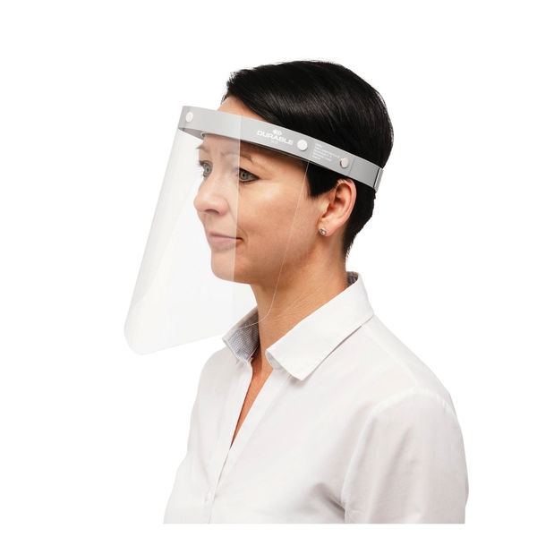 Durable Liftable Face Visors, Pack of 25 - 343110