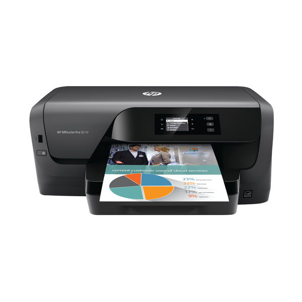HP Officejet Pro 8210 Printer | D9L63AA81