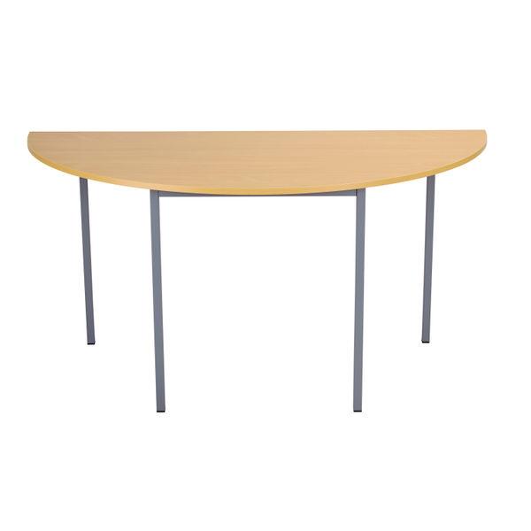 Jemini 1600mm Beech Semi Circular Table