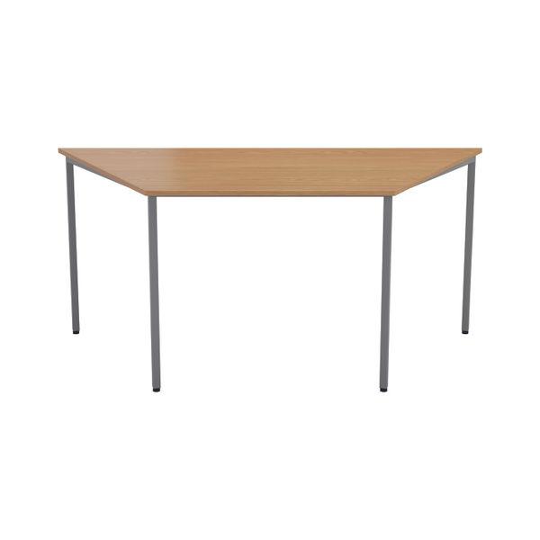 Jemini 1600mm Beech Trapezoidal Table