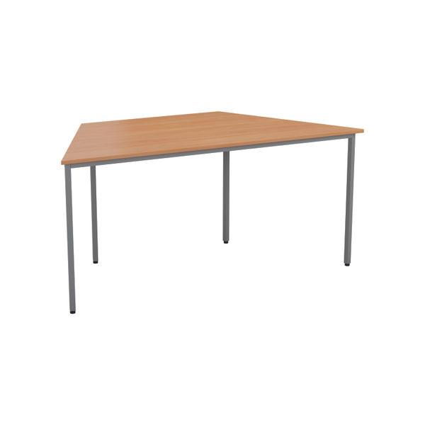 Jemini 1600mm Nova Oak Trapezoidal Table