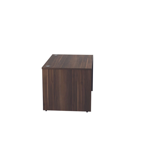 Jemini 1200mm Dark Walnut Reception Modular Desk Unit