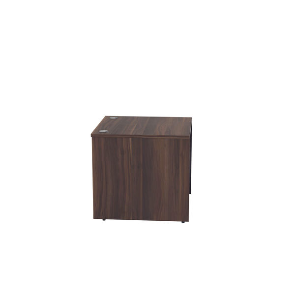 Jemini 800mm Dark Walnut Reception Modular Desk Unit