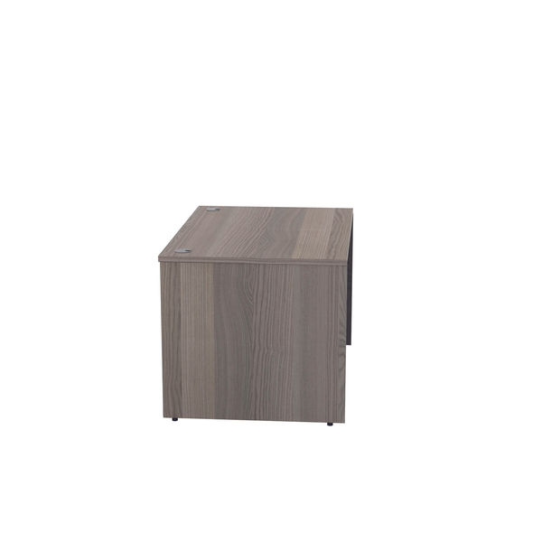 Jemini 1200mm Grey Oak Reception Modular Desk Unit