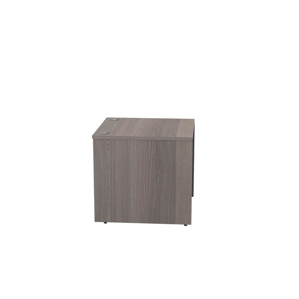 Jemini 800mm Grey Oak Reception Modular Desk Unit