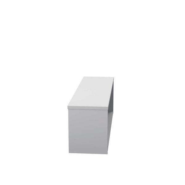 Jemini 1200mm White Reception Modular Riser Unit