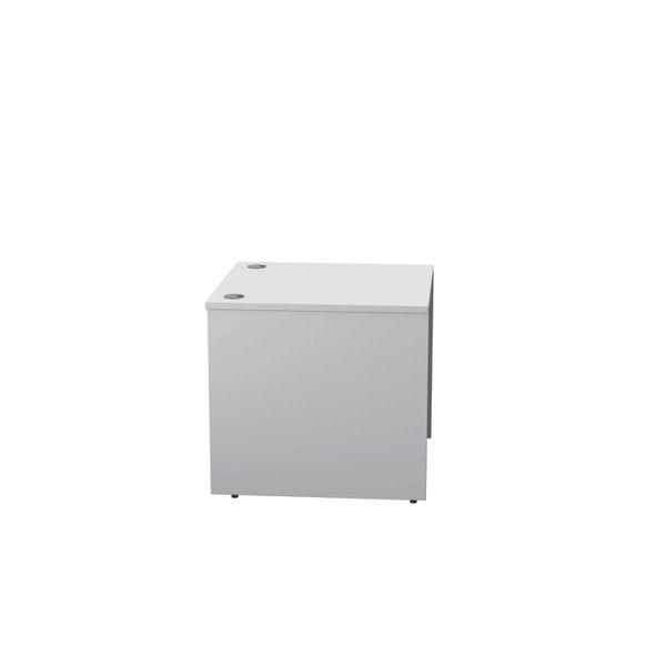 Jemini 800mm White Reception Modular Desk Unit