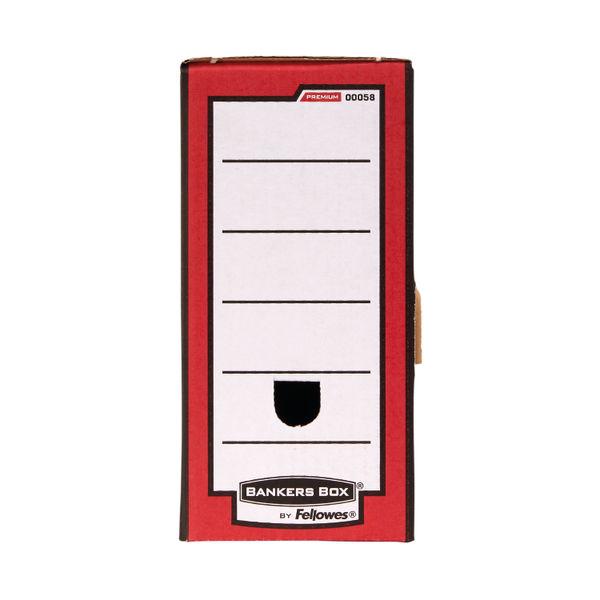 Fellowes Red Bankers Box Premium Transfer File (Pk10) - 5802