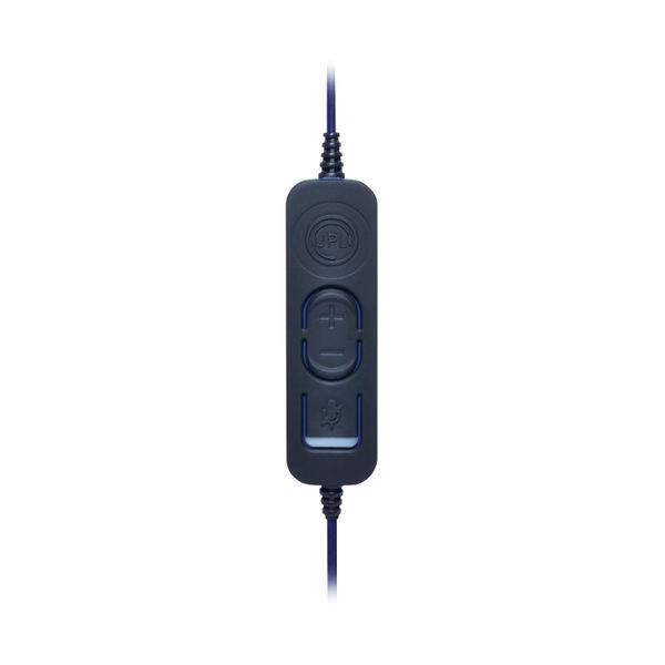JPL Commander 2 Binaural Over The Head USB Headset Black Headset COM2