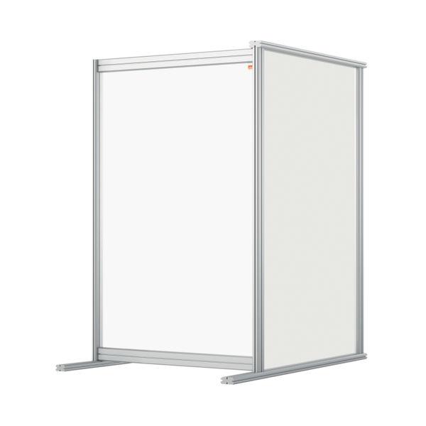 Nobo 600mm Clear Acrylic Modular Desk Divider Extension
