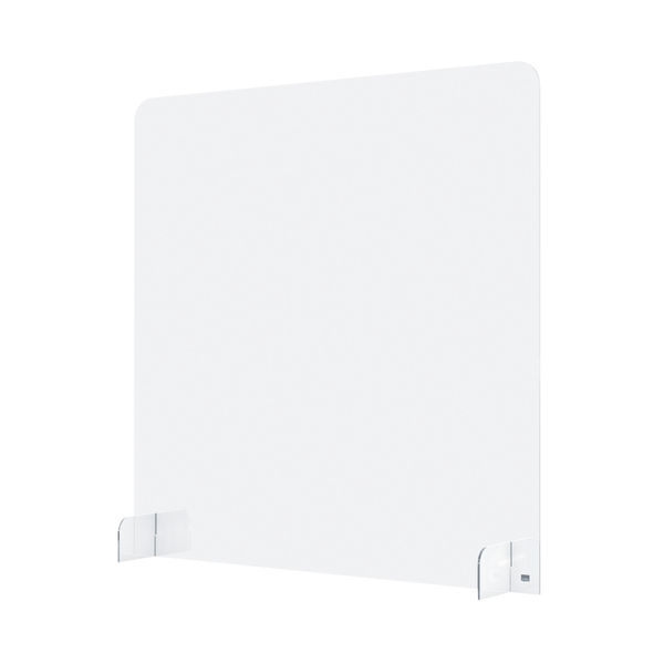 Nobo 700mm Clear Acrylic Counter Partition Screen