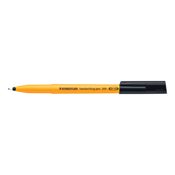 Staedtler Handwriting Fineliner Black (Pack of 10) 309-9