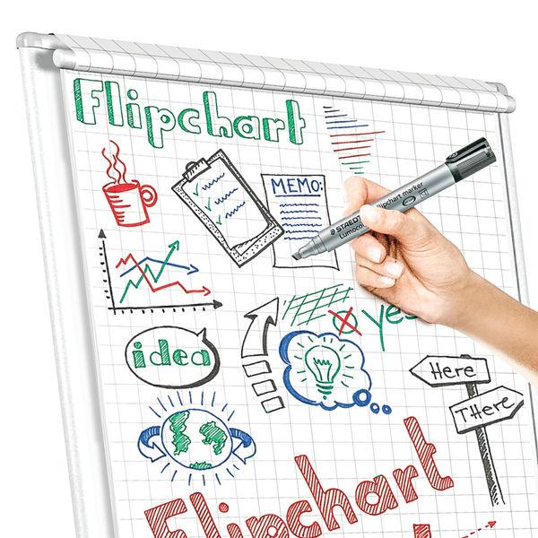 Staedtler Flipchart Marker Assorted (Pack of 4) 356 WP4