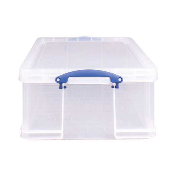 Really Useful 50 Litre Clear Plastic Storage Box - KING50C