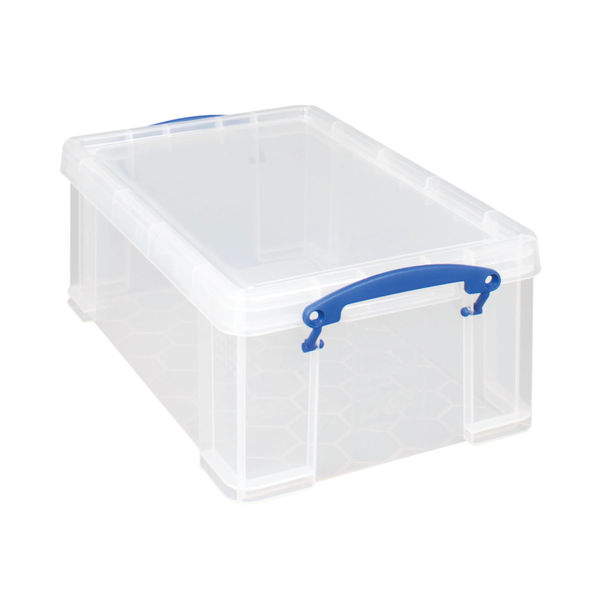 Really Useful 9 Litre Storage Box with Lid - 9C